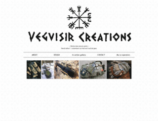 vegvisircreations.fi screenshot