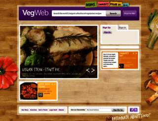vegweb.com screenshot