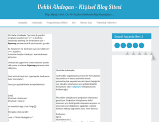 vehbiakdogan.blogspot.com.tr screenshot