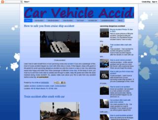 vehicle-accident.blogspot.com screenshot