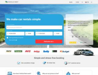 vehicle-rent.com screenshot