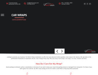 vehicleswrap.com screenshot