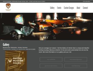 vehiclevaultco.com screenshot