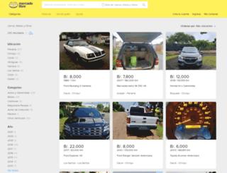 vehiculos.mercadolibre.com.pa screenshot