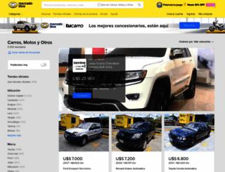 vehiculos.mercadolibre.com.ve screenshot