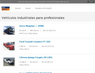 vehiculos.truckscout24.es screenshot