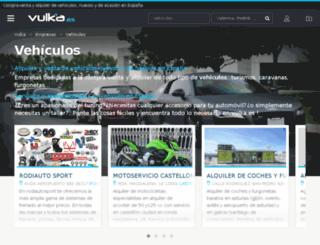 vehiculos.vulka.es screenshot
