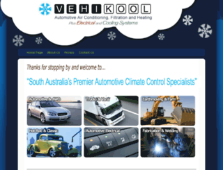vehikool.com.au screenshot