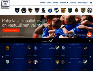 veikkausliiga.com screenshot