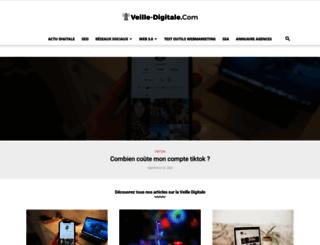 veille-digitale.com screenshot