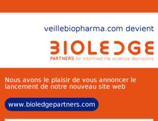 veillebiopharma.com screenshot