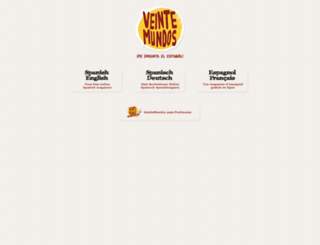 veintemundos.com screenshot