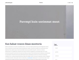 vekarakirppis.fi screenshot
