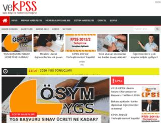 vekpss.com screenshot