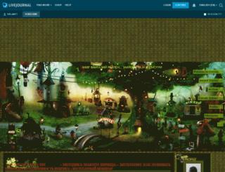 velanti.livejournal.com screenshot