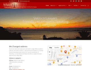 velascolawyers.com screenshot