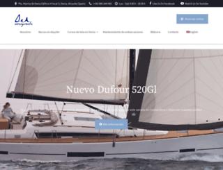 velasyviento.com screenshot