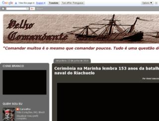 velhocomandante.blogspot.com.br screenshot