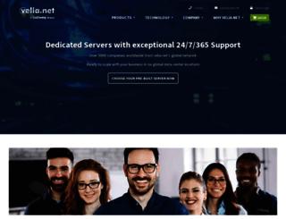 velia.net screenshot
