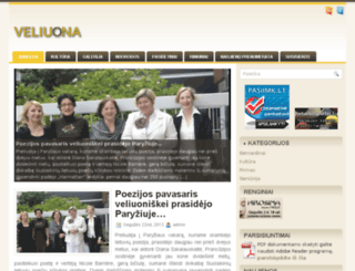 veliuona.eu screenshot