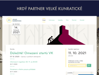 velkakunraticka.cz screenshot