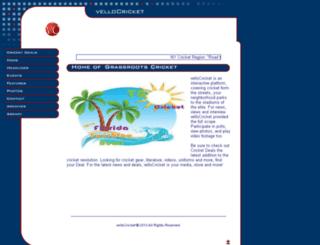 vellocricket.com screenshot