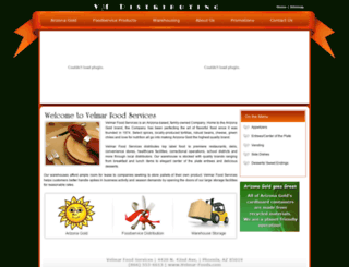 velmar-foods.com screenshot
