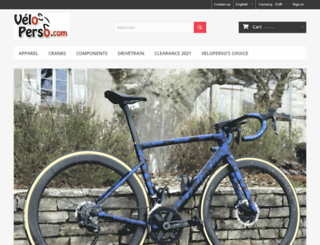velo-perso.com screenshot