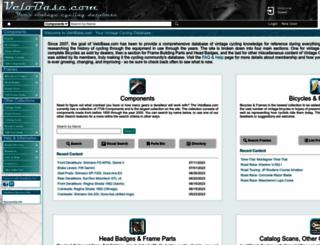 velobase.com screenshot