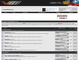 velocidad-maxima.com screenshot