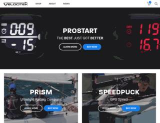 velocitek.com screenshot