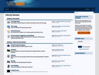 velocityreviews.com screenshot