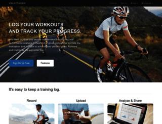 velohero.com screenshot