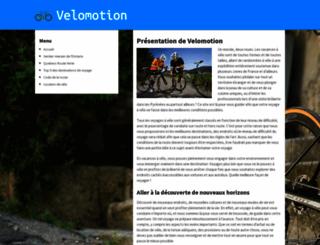 velomotion.ca screenshot