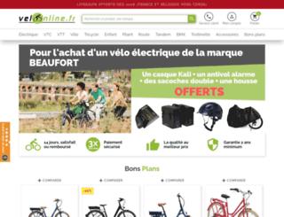 velonline.fr screenshot