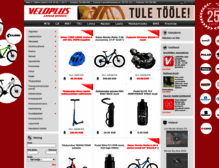 veloplus.ee screenshot