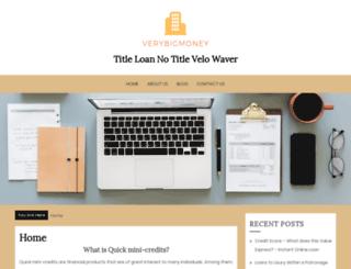 velowaver.com screenshot