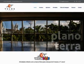 veloxfitness.com.br screenshot