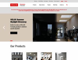 velux.ca screenshot