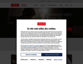 velux.fr screenshot