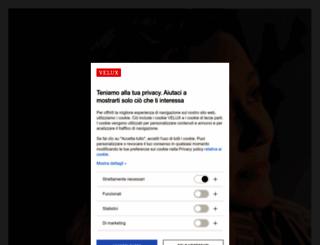 velux.it screenshot