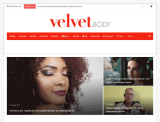 velvetbody.it screenshot