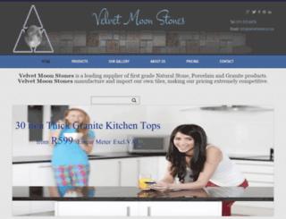 velvetmoon.co.za screenshot