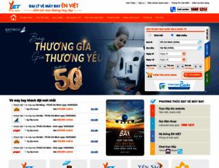 vemaybaytructuyen.com screenshot
