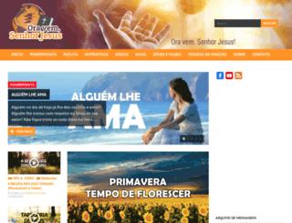 vemsenhorjesus.org screenshot