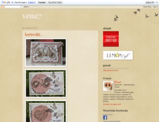 vena7.blogspot.com screenshot
