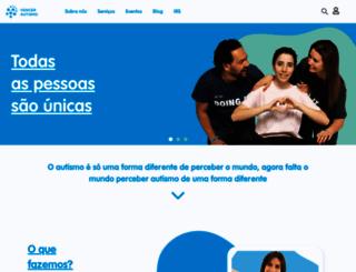 vencerautismo.org screenshot
