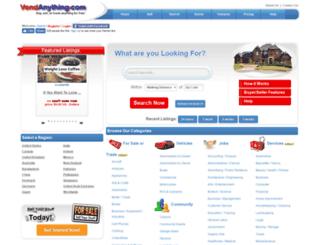 vendanything.com screenshot