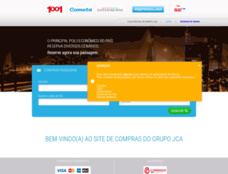 vendas.jcaholding.com.br screenshot