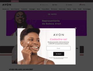 venderavon.com.br screenshot